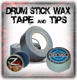 Drum Stick Tape And Wax