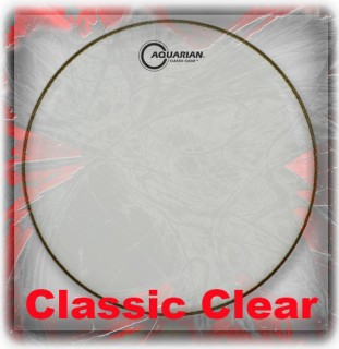 Aquarian Classic Clear Drum Heads