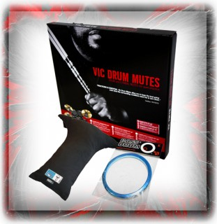 Drum Silencers, Kickers, Slam Patches & Accessories