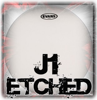 Evans J1 Coated Drum Heads