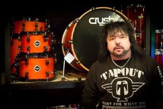Nigel Durham Ex Saxon In Store For Crush Drums