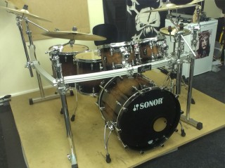 Stunning Sonor Prolite Kit Supplied To Matt Nicholson