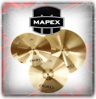 Mapex And Tornado Cymbals