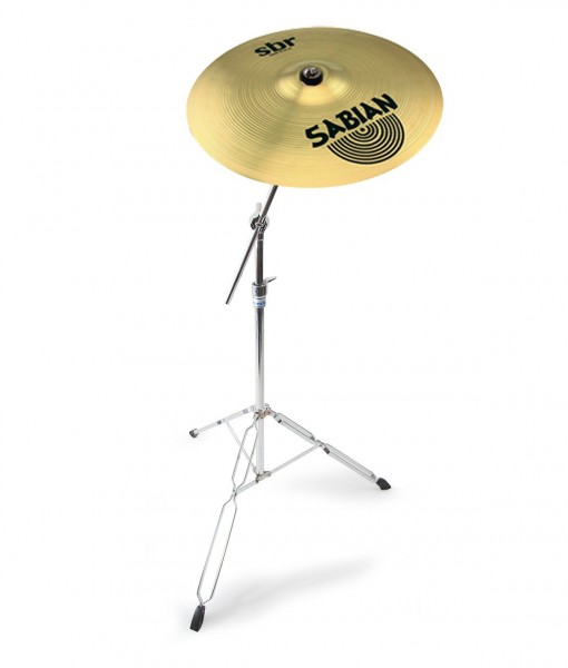 sabian 18 sbr crash ride cymbal with mapex tornado cymbal stand rockem music. Black Bedroom Furniture Sets. Home Design Ideas