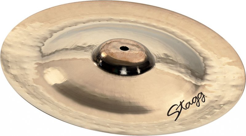 stagg 12 dh double hammered china cymbal dh ch12b rockem music. Black Bedroom Furniture Sets. Home Design Ideas