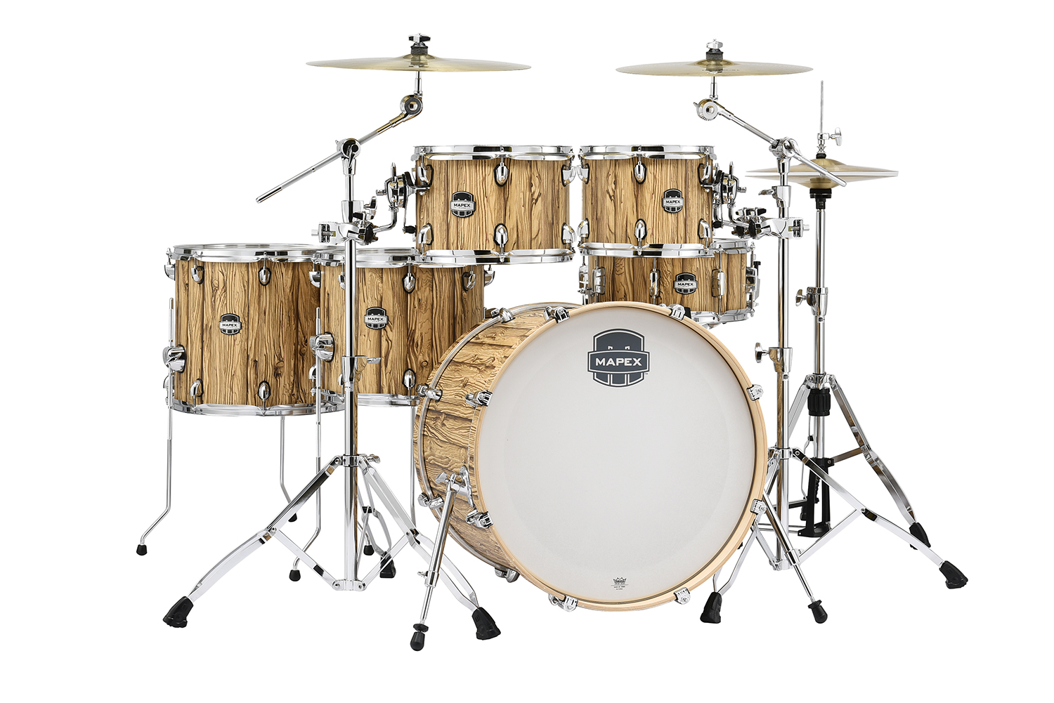 Mapex Mars 528 Drum Kit Driftwood MA528S With EXTRA 10